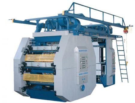 Основной парк оборудования составляют две автоматические линии форматов 1050мм и1260 мм производительностью до 30 метров вмин